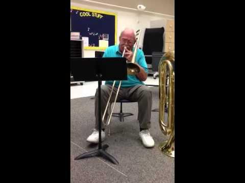 Trombone/Baritone/Bassoon Even Year Fast Etude