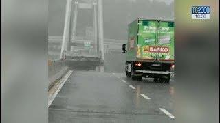 Genova, crollo ponte Morandi sulla A10. Le immagini del disastro
