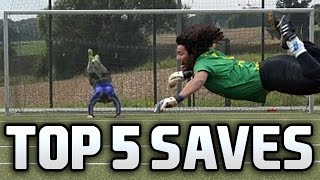 TOP 5 SAVES OF THE MONTH from Meti [August] ft. Higuita Save