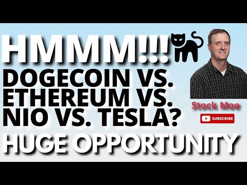 DOGECOIN PRICE AND ETHEREUM PRICE PREDICTION UPDATES & THE YOUTUBE PICK UPDATED & NIO STOCK PRICE.