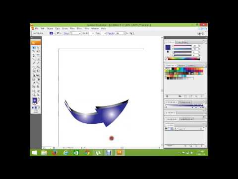 how to make an arrow in illustrator