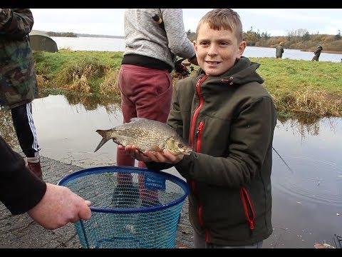 Darndale Kids On Learning Angling Skills At The Cavan Lakes