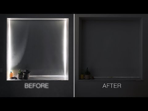 eliminate-light-gaps-on-window-blackout-roller-shades-//-tiny-apartment-build-ep.7