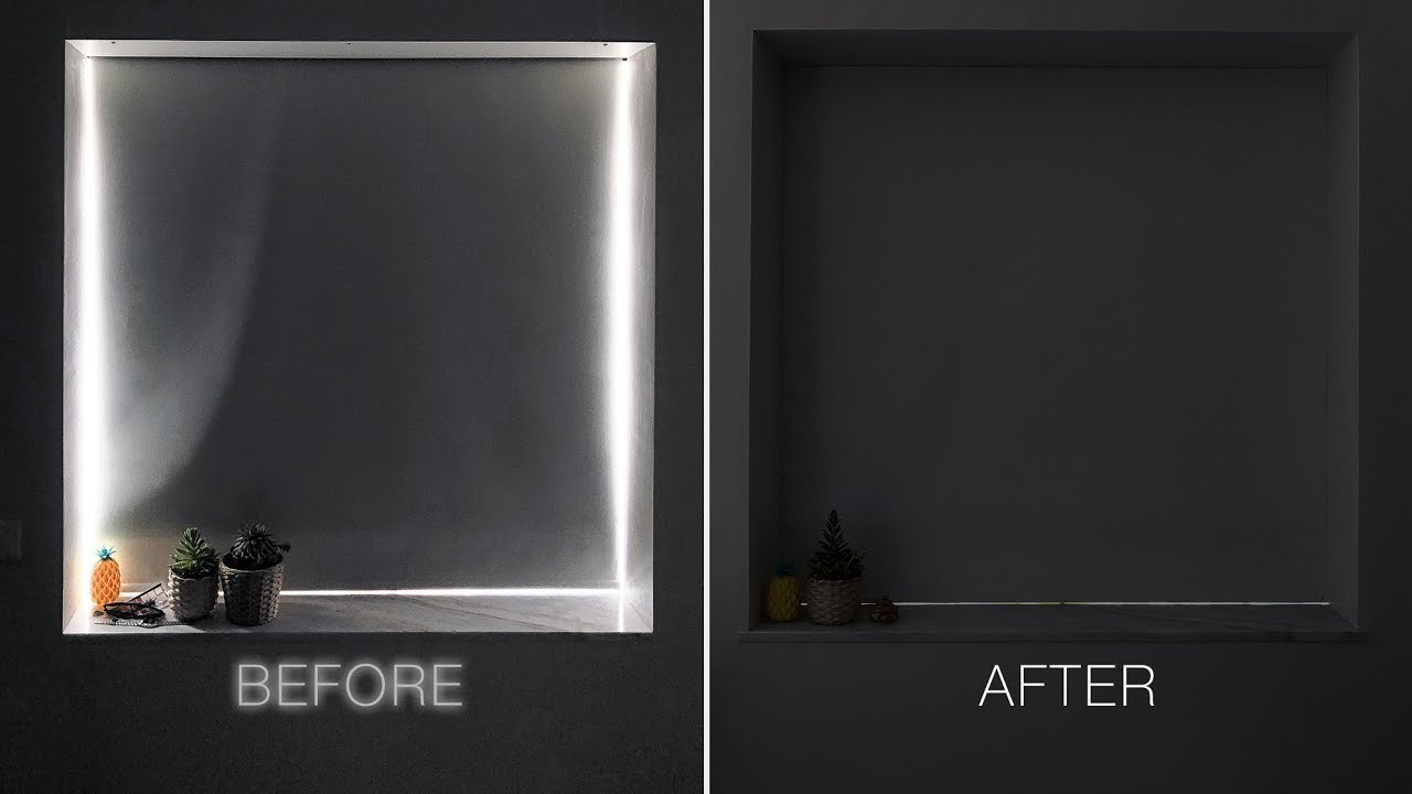 Eliminate Light Gaps On Window Blackout Roller Shades Tiny Apartment Build Ep 7 Youtube