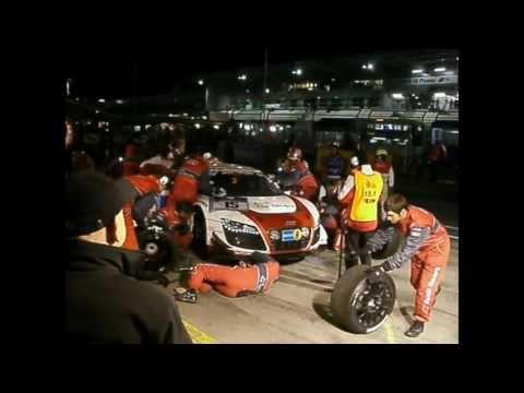 Boxenstop Audi R8 Phoenix-Racing (24h Nordschleife 2011)