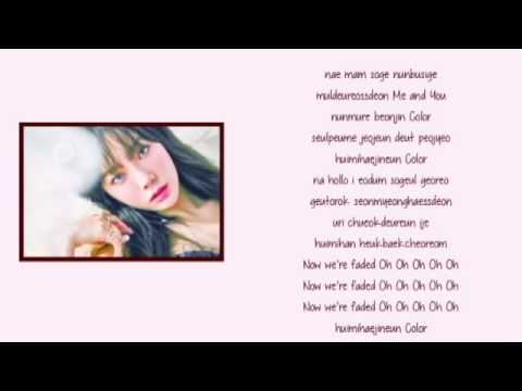 Free Download Taeyeon - Love In Color Lyrics Mp3 dan Mp4