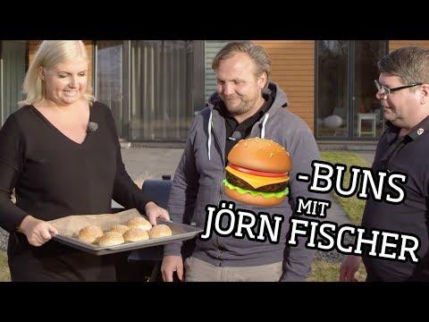 Pulled Pork Burger mit Burger Buns - mit Jörn Fischer