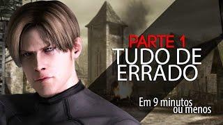 ESTÁ TUDO ERRADO COM: resident evil 4 - 1/3