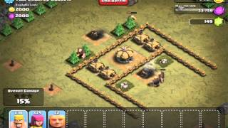Clash of Clans iOS playthrough 7: Two Smoking Barrels