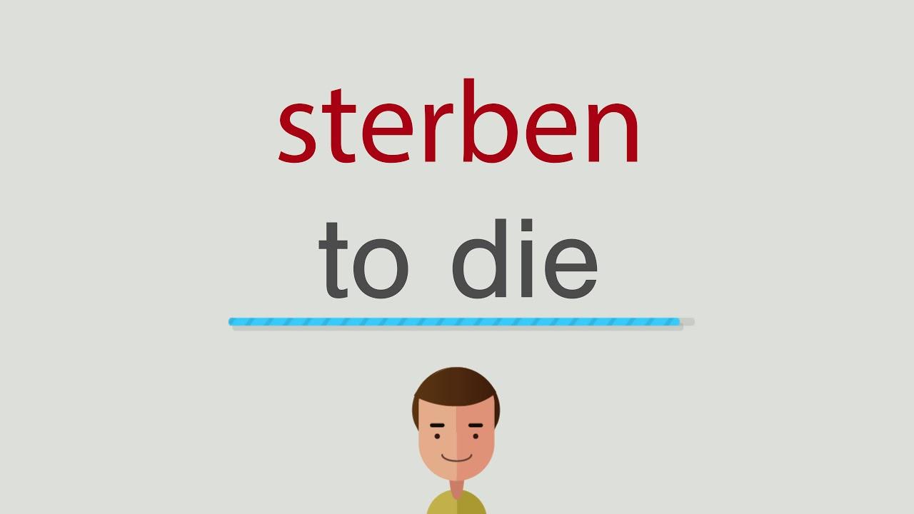 Sterben Englisch