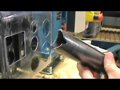 Scotchman Electric Tube and Pipe Notchers & Scotchman Electric Tube and Pipe Notchers - YouTube