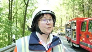 Abschlussübung für angehende Notfallsanitäterinnen und -sanitäter