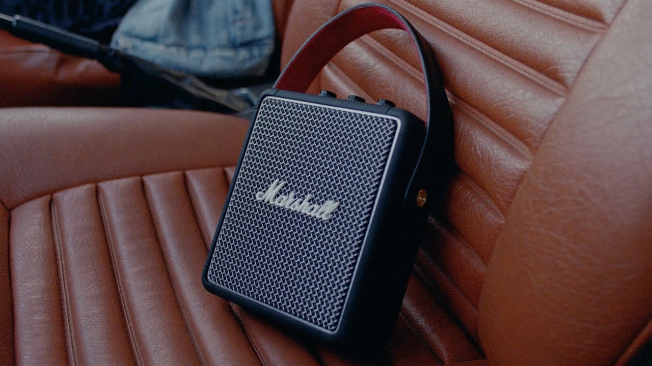 Marshall - Stockwell II Portable Speaker - Hit the Road - YouTube