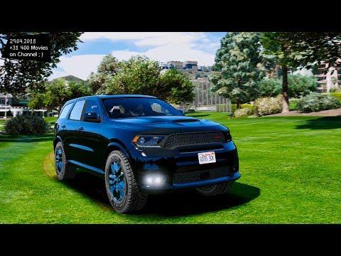 2018 Dodge Durango SRT 1.0 BETA Grand Theft Auto V M.G.V.A. MODs Gta5-mods