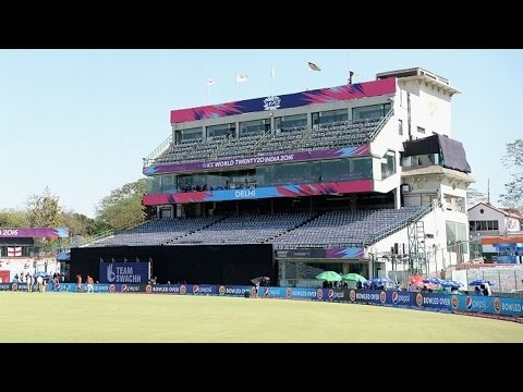 Delhi's Feroz Shah Kotla Cricket Stadium Tour. OLD CLUB HOUSE View