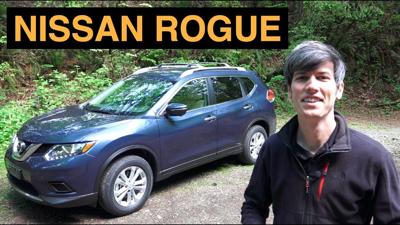2015 Nissan Rogue SV AWD   Review U0026 Test Drive   YouTube