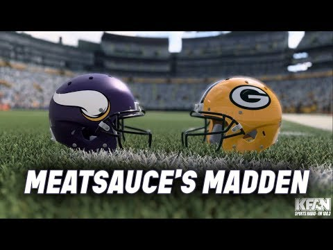 The Power Trip - Meatsauce Simulates Vikings vs Packers on Madden '20 [VIDEO]
