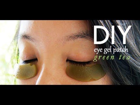 Lets Make Lemon Green Tea Eye Patches