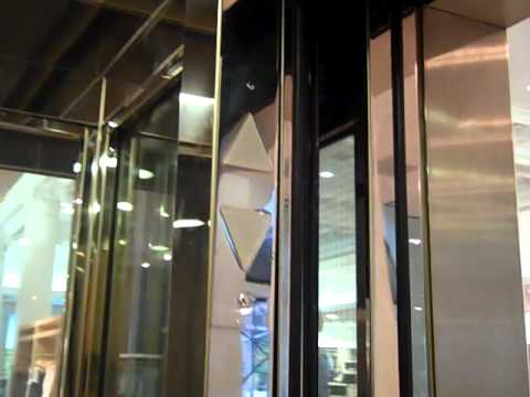 Montgomery Glass Elevator At The Gap Store On 3rd Avenue & East 85th Street In Manhattan NYC