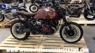 Worldwide Bomber Magazine at Kickback custom bike show 2015