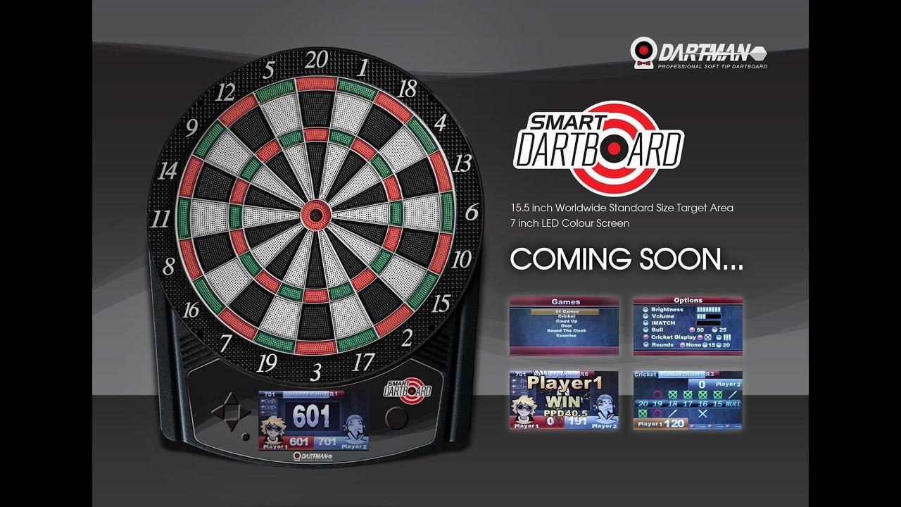 Dartman Smart Dartboard Youtube