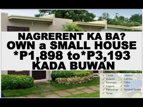 WHY RENT? OWN A SMALL HOUSE  INSIDE A SUBDIVISION, P1,898 To P3,193 MONTHLY