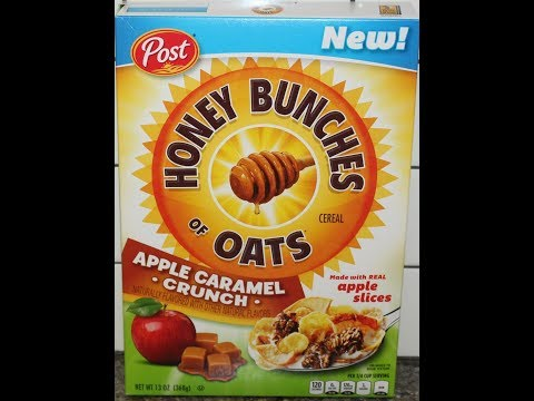 Honey Bunches Of Oats Apple Caramel Crunch Cereal Review