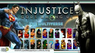 INJUSTICE 16 BITS (GAME COMPLETO) By ZVitor #Mugen #AndroidMugen