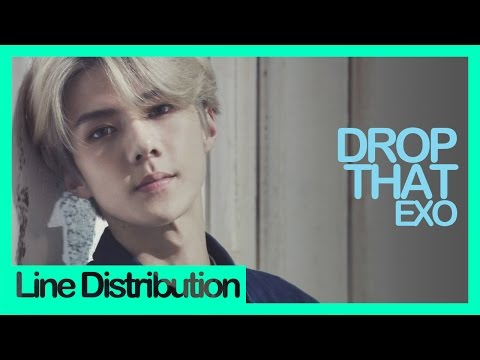 [Line Distribution] EXO - Drop That