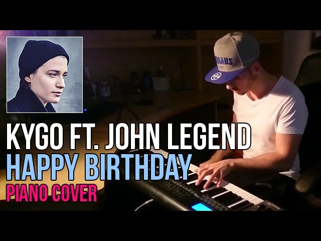 Kygo ft John Legend - Happy Birthday Marijan Piano Cov