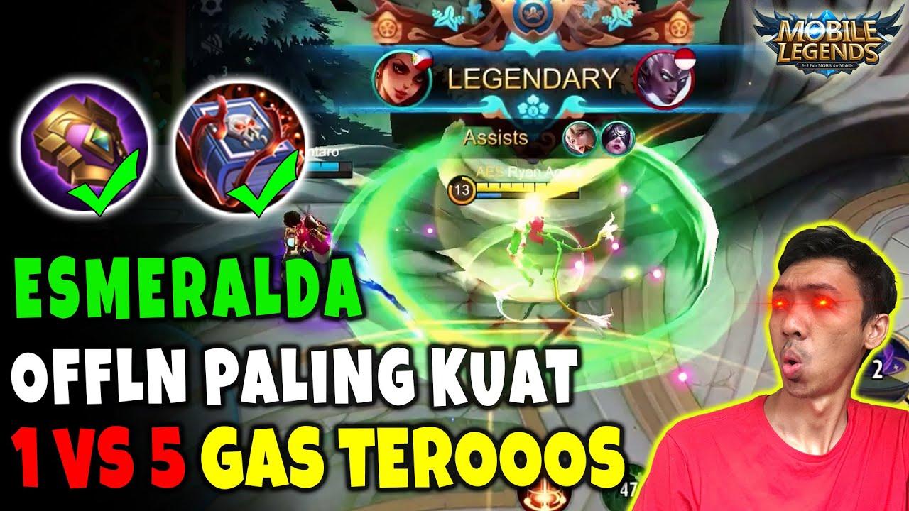 Offlane Paling Kuat Saat ini!! New Build Esmeralda Tersakit dan Terkuat - Mobile Legends