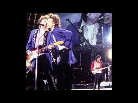 Bob Dylan guesting The Rolling Stones - Montpellier 1995