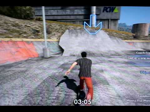 Skate 3 - Own the Lot, New Factory Sick List - Manny Flip Manny on the slate