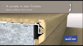 Оригинальные решения Quick-Step по отделке лестниц(, 2013-02-22T13:19:08.000Z)