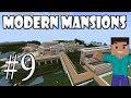 Minecraft - Как да си направим модерно Имение | епизод 9 |