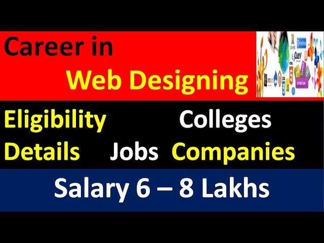 Career In Web Designing L Web Development Ll Salary L Scope L Job Opportunities L Meritech Education Youtube