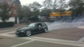 bmw z3 m coupe drifting