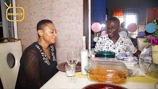 Kumawood Actress Ellen Kyei White Throws Private Fufu & Jollof Party For Zionfelix