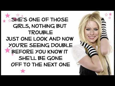 Avril Lavigne - One Of Those Girls (with lyrics) HD mp3