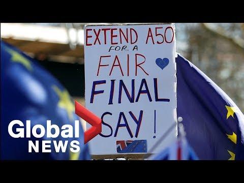 Brexit: U.K. lawmakers vote to delay EU divorce, reject second referendum