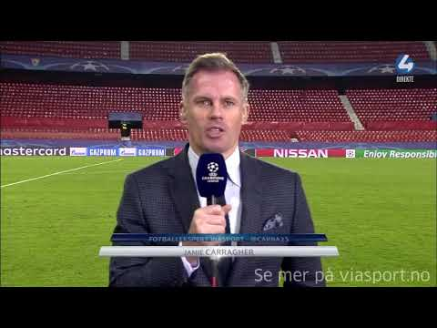 Jamie Carragher- Liverpool defended like Children against Sevilla