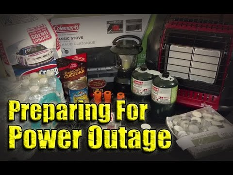 Preparing for Power Outage / Lights Out Kit - YouTube