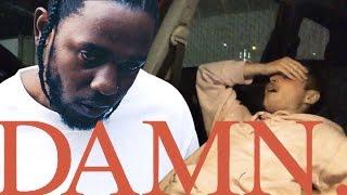 Kendrick Lamar - DAMN. (FIRST REACTION/REVIEW)