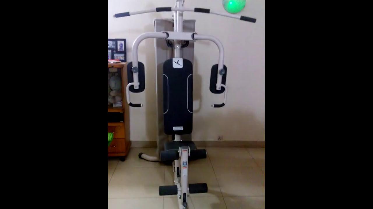 Decathlon home gym installation youtube
