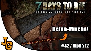 7 Days to Die - Beton-Mischa! - Let's Play #42 - Gameplay - Deutsch - 7DTD - 7d2d thumbnail