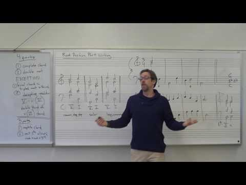 Dr. B Music Theory Lesson 13 (Part Writing/Voice Leading)