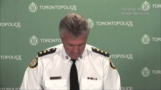 S/Insp. Greg McLane @TorontoPolice Homicide Arrests re: Project Sugar Horse