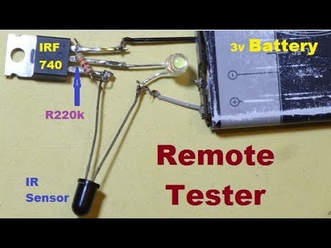 Remote Tester with IRF