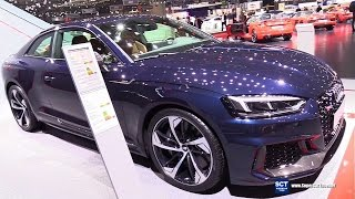 2018 Audi RS5 Coupe - Exterior and Interior Walkaround - World Debut 2017 Geneva Motor Show