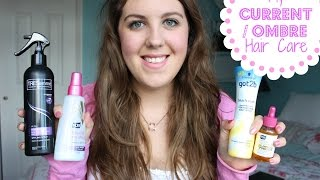 My Current/Ombré Haircare Routine! Thumbnail